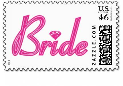 Unique Bride Stamp