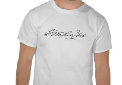 George Washington Signature Shirt