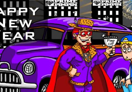 Pimp Cup Man - Happy New Year!