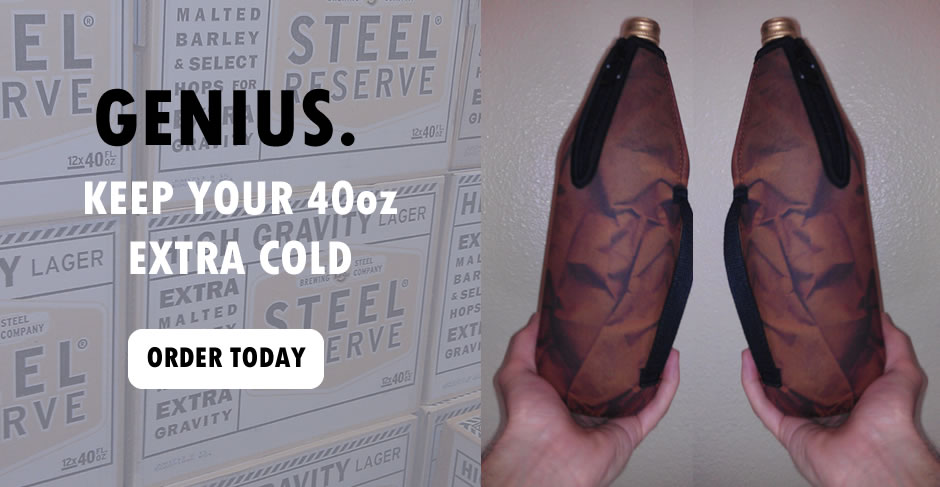 Genius. Keep your 40 oz Extra Cold